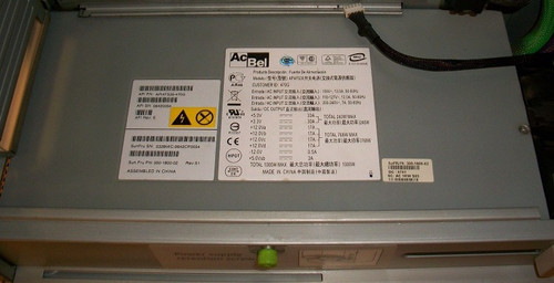 SUN 1000W Power Supply 300-1800