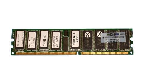 HP 2GB PC2100 Memory 261586-051