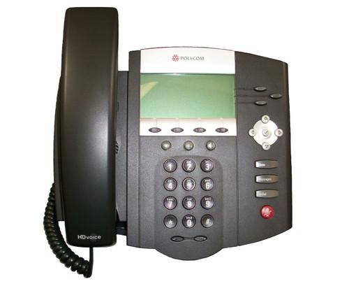 Polycom SoundPoint IP 450 w/ Power Adapter 2200-12450-001