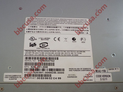 AVOCENT DSR8030 520-391-008