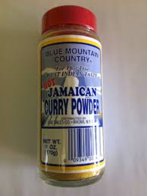 Blue Mountain Country Hot Jamaican Curry Powder 6 oz