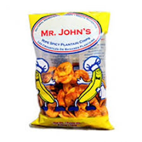 Mr. John's Spicy Plantain Chips 2.47 oz
