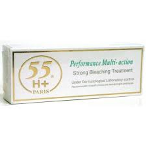 55H+ Performance Multi-Action Strong Bleaching Treatment Tube Cream 1.7 oz / 50ml