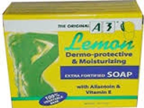 A3 Moisturinzing Lemon Soap 3.4oz/ 100g