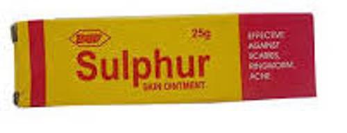 DGF Sulphur Skin Ointment Tube 25g