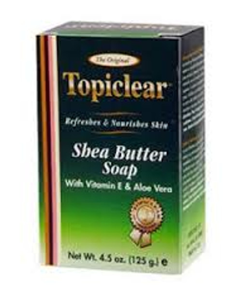Topiclear Shea butter soap 125g
