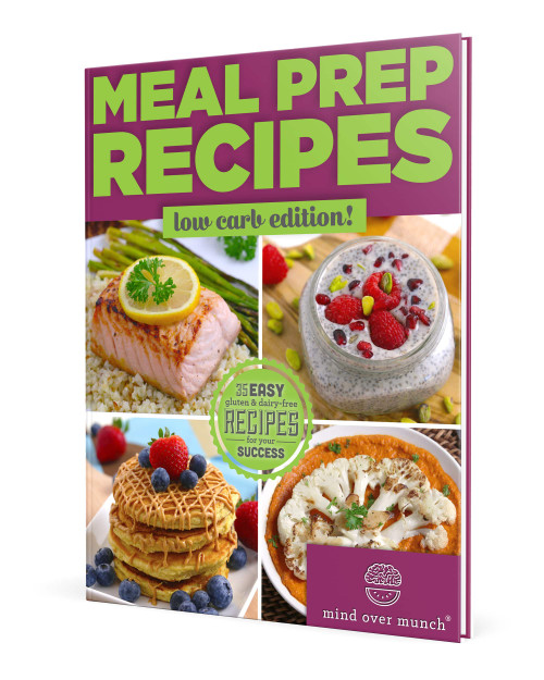 Cover of the ebook Meal Prep Recipes: Low Carb Edition by Alyssia Sheikh