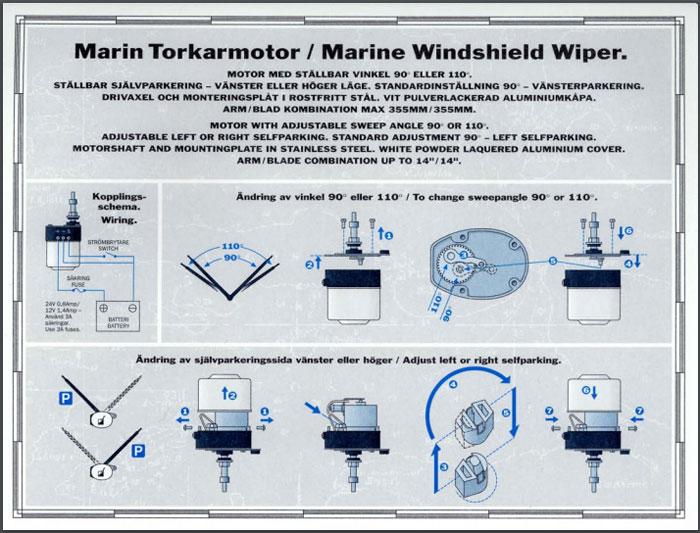 Standard 12v Wiper Motor Wiring Diagram. . Wiring Diagram on