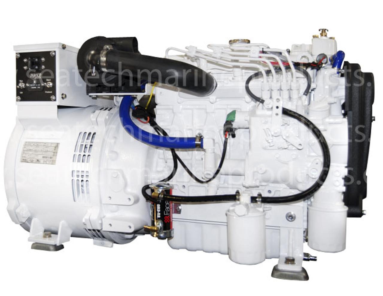 Phasor K4 12 5kw Marine Diesel Generator Standard Series