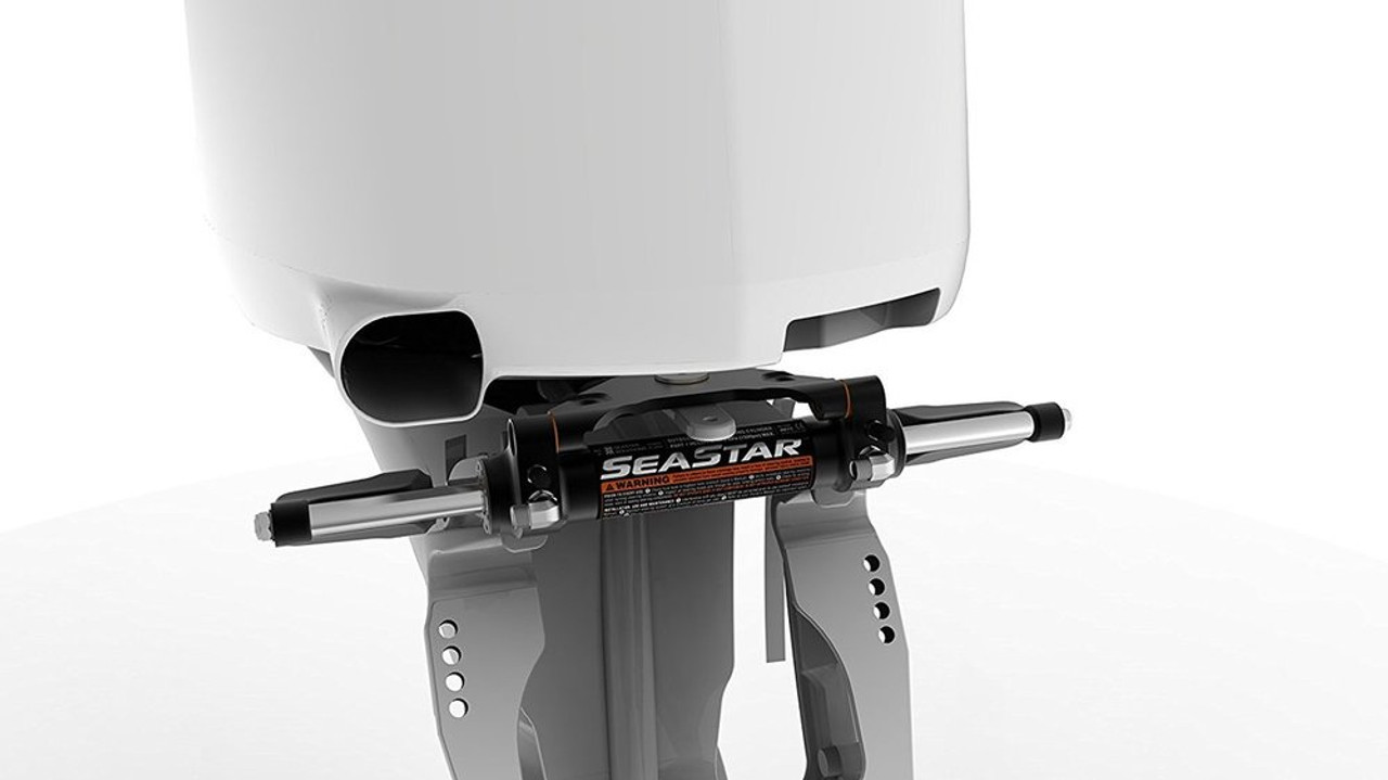 SeaStar HC5345-3 Front Mount Hydraulic Outboard Steering Cylinder