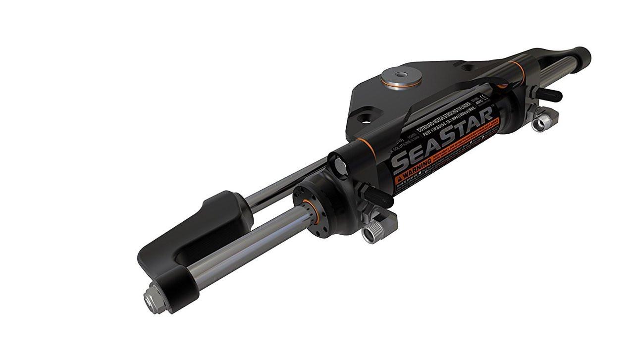 SeaStar HC5445-3 Marine Hydraulic Steering Cylinder - Honda Outboard  (01'-Date 225-250HP 4-Stroke)