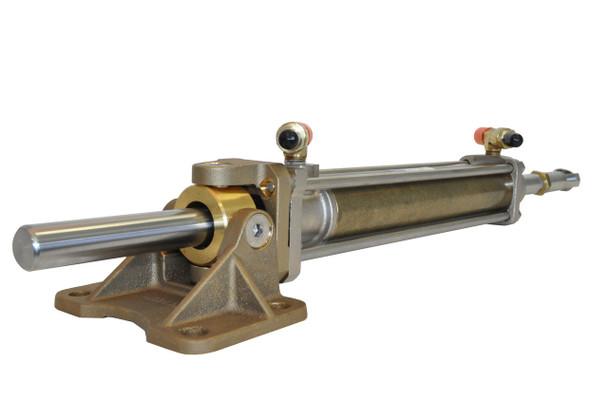 """SeaStar HC5804 Power Steering Cylinder Add 2"""" x 11"""" Stroke"""