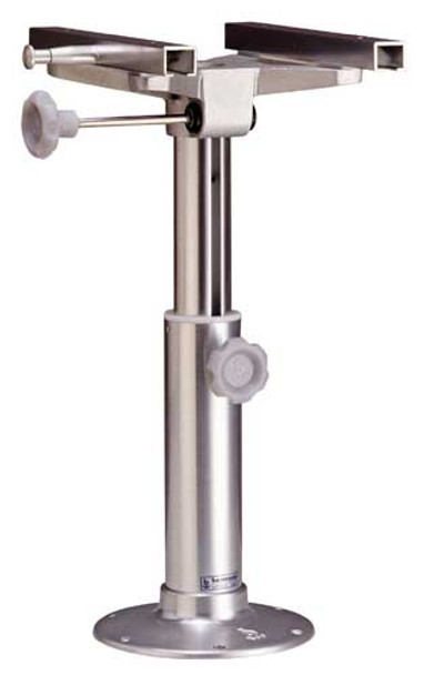 """""""S181S"""", Adj. Height 520-730mm w/230mm Base and Sliders Anodized Finish"""