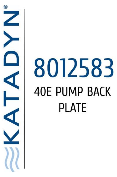 Katadyn 8012583 40E Pump Back Plate