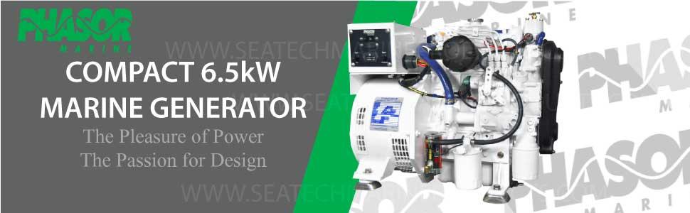 Phasor K4 15kw Marine Diesel Generator Standard Series