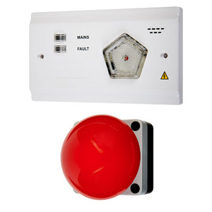 Call Button, Large, Single Zone Kit