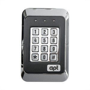 Black and Silver Digital Coded Access Keypad