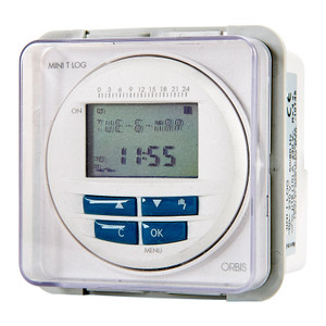 Digital Timeswitch with Daily, Weekly, Seconds Programming. Installation on DIN rail, Surface or Built-In