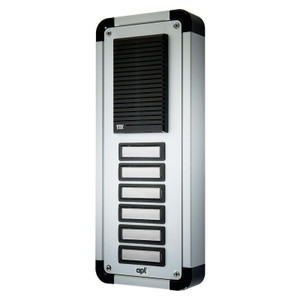 6 Way Replacement Panel for the DPK6 Audio Door Entry System, Surface or Flush