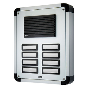 8 Way Replacement Panel for the DPK8 Audio Door Entry System, Surface or Flush