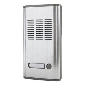 Door Entry System, 1 Station, Silver