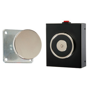 Magnetic Door Retainer, 24V DC, Surface Mount