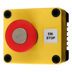 Emergency Stop Switch with Key Release, 10A
