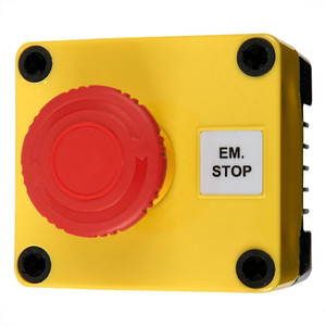 Emergency Stop Switch, Push-Twist, 10A