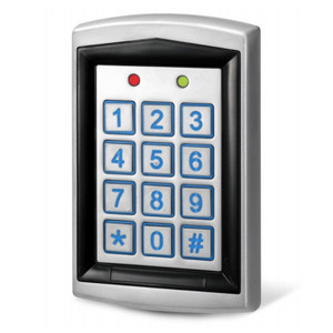 Combined Proximity & Keypad Access Panel for Fob or Keypad Entry