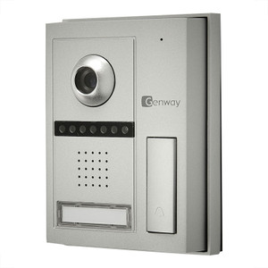 Video Door Entry, Single Station Kit, Black & White