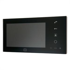 """7"""" Black video door entry monitor - ACO"""