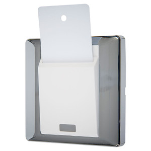 Keycard Switch, 16A, Polished Chrome Finish