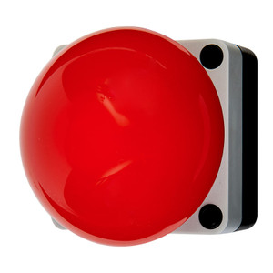 Palm/Foot Switch Station, Red, 10A