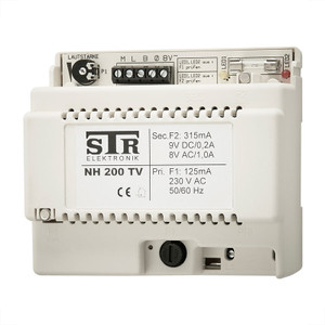 Power Supply/Amplifier - up to 100m run