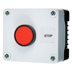 Red Push Button Switch, Momentary