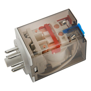 8 Pin 2 Pole Relays, AC / DC Coils