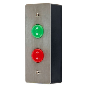 Wait & Enter - Red and Green LED Indicators