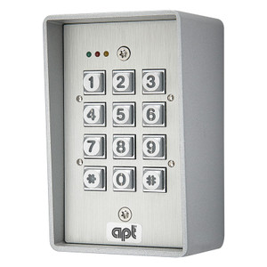 Coded Access Panel, Surface Mounted, Aluminium