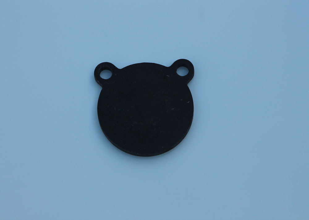 "4"" AR500 Steel Shooting Target Gong in 3/8"" thickness"