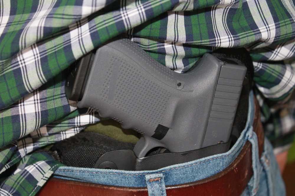 Rapid deployment allows the Glock 19 to be immediately accessible from the TRR combat cut IWB concealed carry holster.