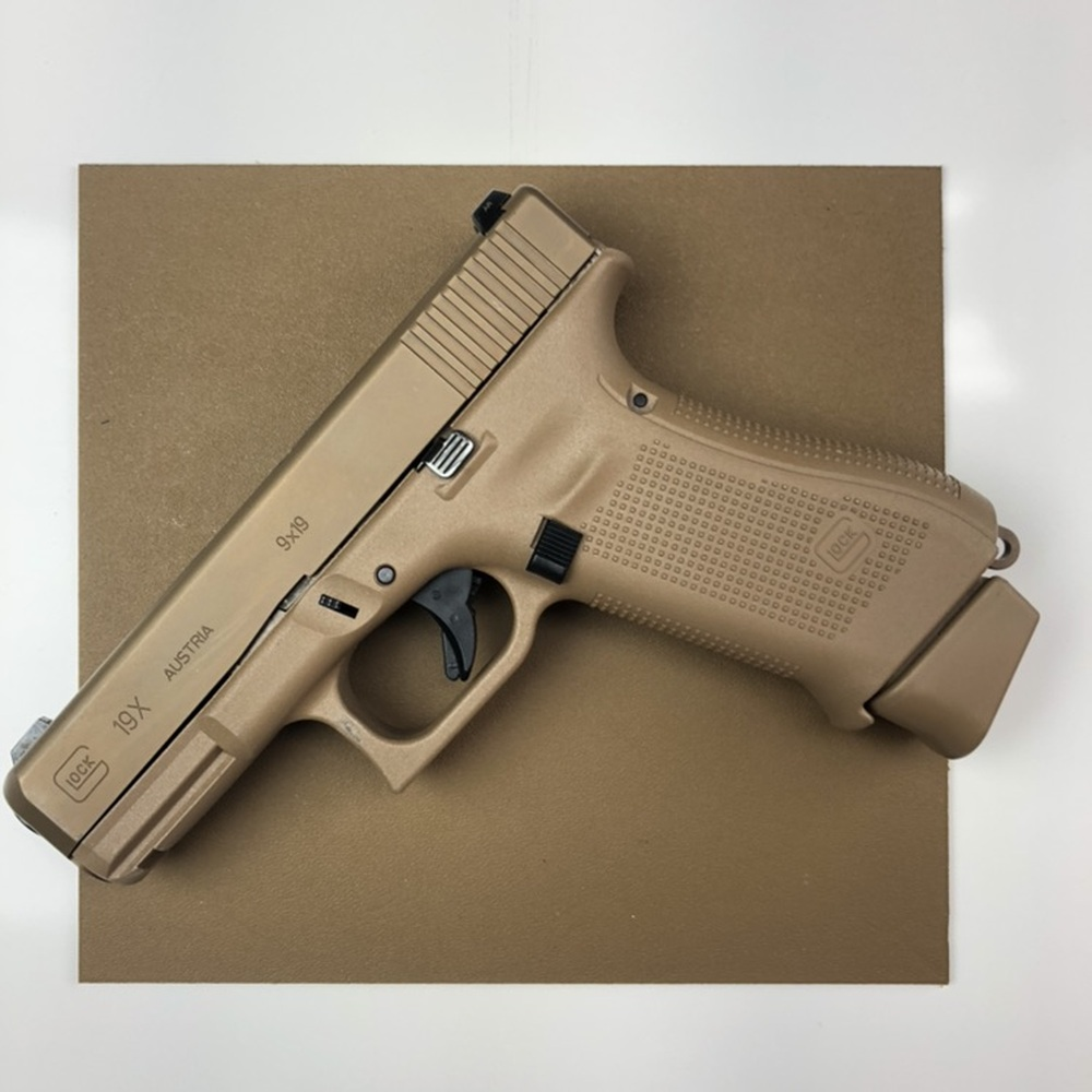 Coyote Brown Glock 19X show for matching purposes