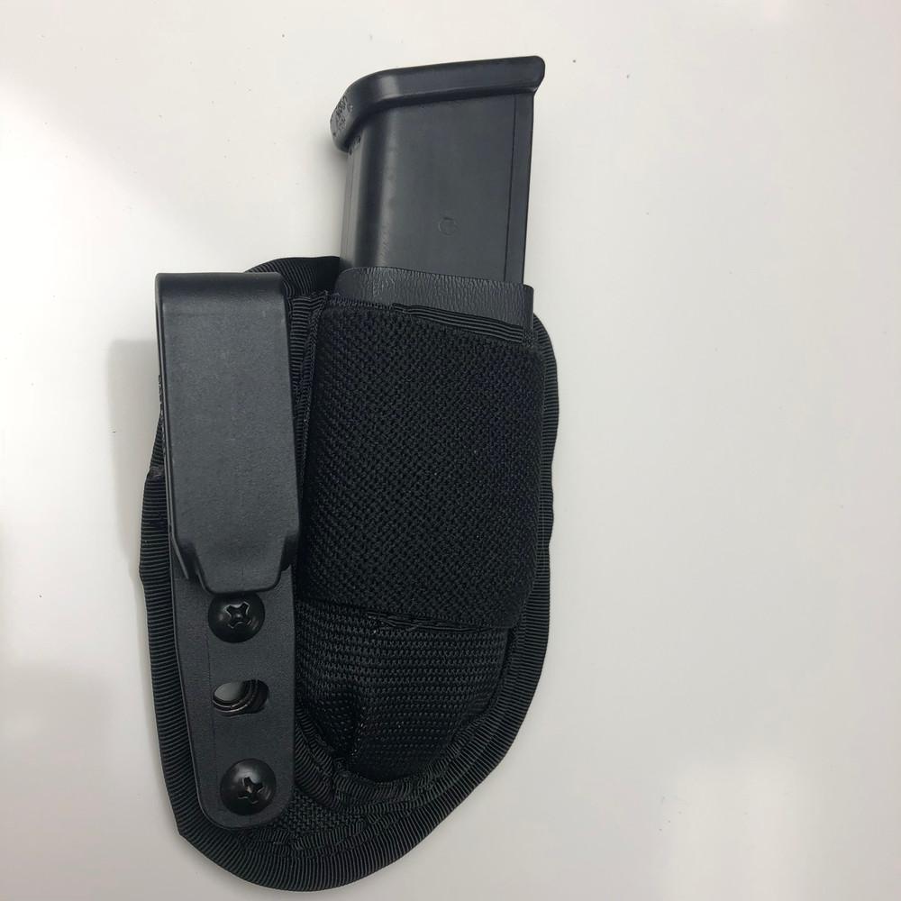 Enhanced MAX Mag holster - Kydex Half Shell added.