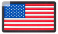 OPTIONAL PVC American Flag Morale Patch - Velcro Hook Backing.