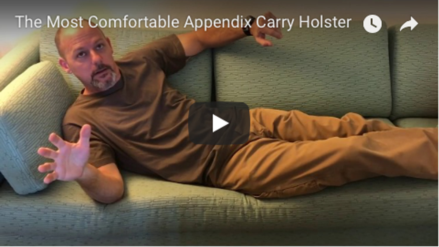 The Most Comfortable Appendix Carry Holster