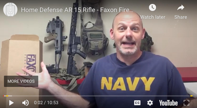 "Home Defense AR 15 Rifle - Faxon Firearms Ascent 16"" Carbine"