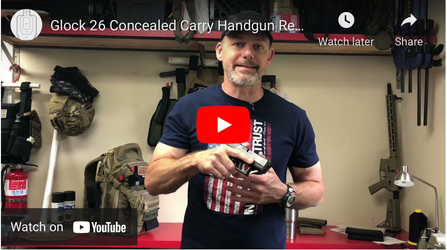 Glock 26 Concealed Carry Handgun Review