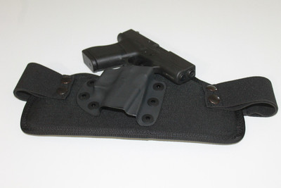 The Glock 43 and the TRR IWB concealed carry holster make an excellent combination for all day carry.