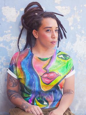 Women's Picasso Reimagined Short-Sleeve Tee