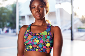 Bubbles Seamless Sports Bra