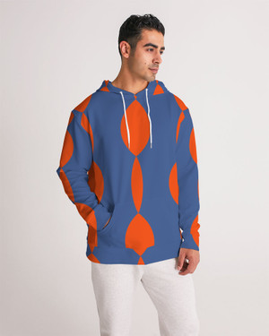 Men's Twisted Orange Pullover Hoodie